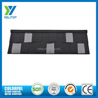 Flat type wholesale cheap decorative shingles metal roofing materials roof tile