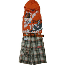 La última moda de verano único ropa para niños