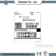 Cheap design priority mail shipping label