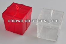 Plastic balloon weight with