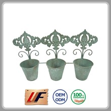 Top Sale High-End Customizable Decorative In Orchid Wooden Plant Pots Set