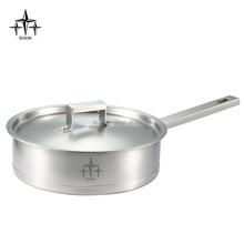 Promotion product stainless steel skillet/frying pan/kitchen cookware -DX-207