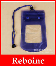 China supplier hot selling universal mobile phone pvc waterproof bag for swimming and diving
