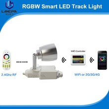 Wifi controlled led track spotlight 7w track light android app smart light