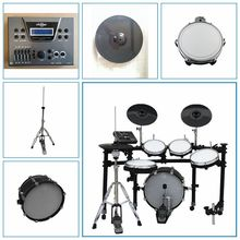 16*2 sound module electronic drum kit, percussion digital drum set,16inch kick drum electric drums
