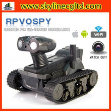 iPhone/Android wifi remote real-time video transmission tank,iphone camera armored tank