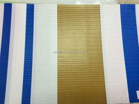laminated pvc awning fabric red white stripe for awning