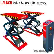 small 12v double scissor hydraulic car lift with CE
