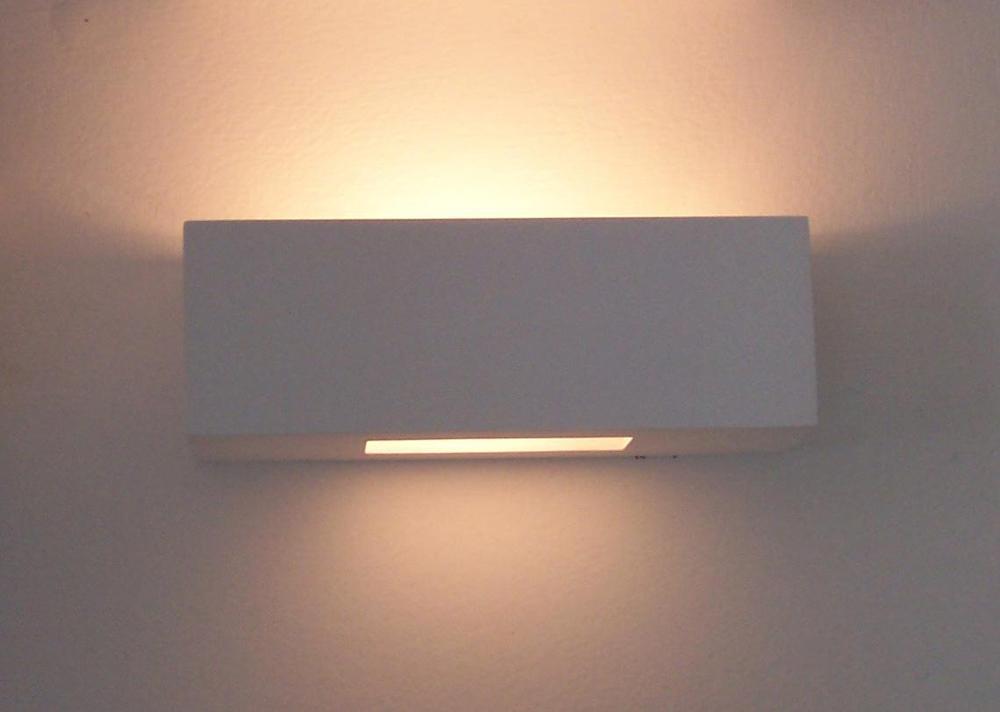 Fantasia gesso luci decorative foglia applique da parete lampade ...