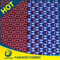 Shaoxing textile manufacturer Customized Fashion Design for African hitarget wax fabric