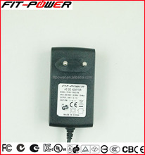 Approved UL KC FCC CE 12V 2A 50W Universal Wall Mount EU Plug AC DC Power Adapter