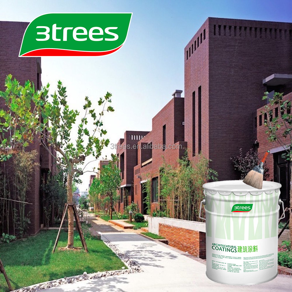 3trees hot selling water based exterior wall paint sealer for Exterior water based paint