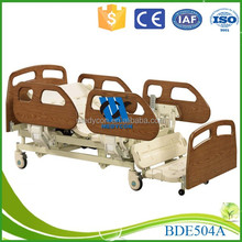 Extra low design foldable bed luxurious homecare electric bed