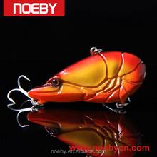 2015 NOEBY fishing lure manufacturer oem crankbaits prawn rattle bait