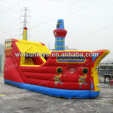 2013 great sales pirate ship inflatable bouncer