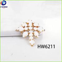 HW6211 renqing shoe collection diamante sandalias woman air blue opal trims