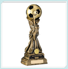 Superb Resin Football World Cup Inspired Trophy
