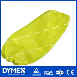 Disposable Yellow CPE sleeve cover