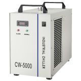 CW-5000DG Industrial Water Chiller for Single 120W CO2 Laser Tube Cooling AC 1P 110V, 60Hz