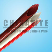 High temperature heat resistant fiberglass sleeve