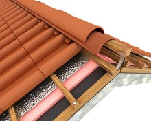 3 layers laminited Breathable Membrane pitched roof underlay