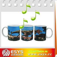 Factory supply voice singing talking cup