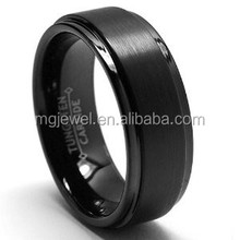 8mm Tungsten Ring Mens Tungsten Carbide Ring Cheap Wholesale