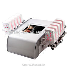 2015 New Portable Cold Laser Slim Lipolysis LED Laser for Slimming Skin Care Equipment