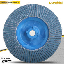 "4.5""x7/8 Zirc Flap Disc Grinding Wheels 60 grit T29 T27 flap wheels"