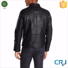 2015 New Design Fashion Leather jackets For Men