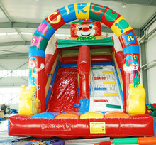 Commercial giant inflatable slide for sale, inflatable games