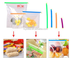 high quality and durable,reusable bag sealer sticks,PP material clips for food fresh