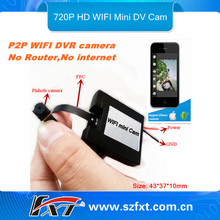 Mini 720p Digital Spy Wifi Camera for Iphone Android smart Mobile phone