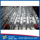 Metal galvanizado aço andaime decks com patente