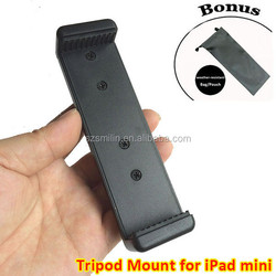 "Tablet Tripod Adapter for iPad Mini and Small Tablets - The Spring Range is from 4.4 to 5.5""(rainy-waterproof pouch as gift)"