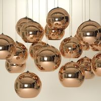 Style KL062 new Kitchen Lights simple fashion gold glass pendant lamp