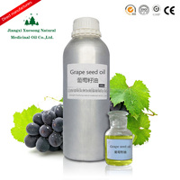 High quality cold press edible grape seed oil with best price