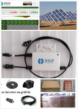 For solar panle installations 250w micro solar inverters 24 hours monitoring