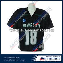 Sublimation soccer shirts v neck soccer jerseys for team