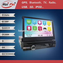 Huifei 1 Din Car Pc Monitor With Powerful 10 Band Eq 10 Virtual Discs Hd 1080P Support Iphone Ipod Music Player