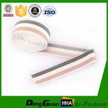 Factory Supply polyester stripe webbing waist belt