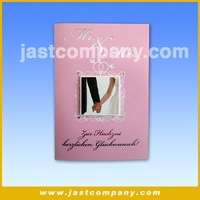 Handmade Gift Card, Greeting Paper Cards, Gift Card Weeding Greeting Paper Cards