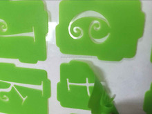 Removable high quality letter painting flex self Adhesive drawing Sticker Stencil from professional Chihna manufacture