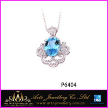 for lover 925 sterling silver 2014 fashion jewelry silver pendant wholesale