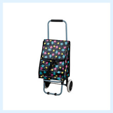 Promotional shopping trolley bag with chair