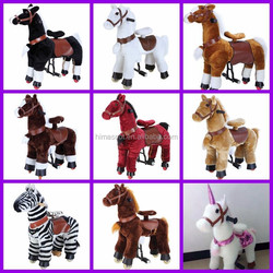 HI CE funny toy horse walking big toy horse horse toy to ride