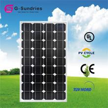 camping 150w 12v solar panel for solar led lighting