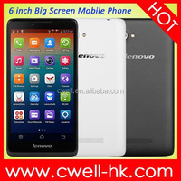 2015 New Lenovo A889 lenovo phone Quad Core MTK6582 1GB RAM 8GB ROM 8MP Camera Dual Sim Card 3G Android 4.2 6 inch Tablet Phone