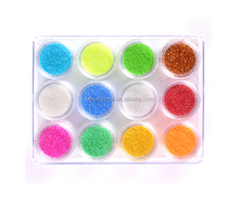 Most Popular Light Color Shining Nail Glitter For Professional Use