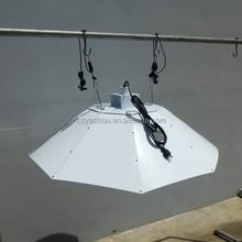 Grow light parabolic vertical umbrella hood
